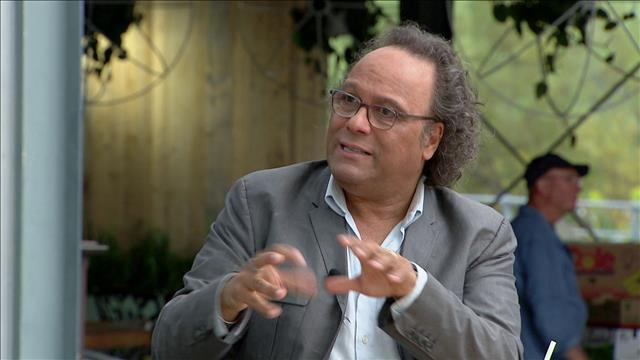 Josélito Michaud et sa première fiction, <i>Olivier</i>