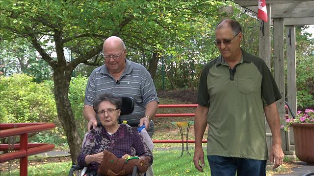 Huberte Barr est parmi les 15 000 à 17 000 Néo-Brunswickois atteints de la maladie d'Alzheimer ou de démence.