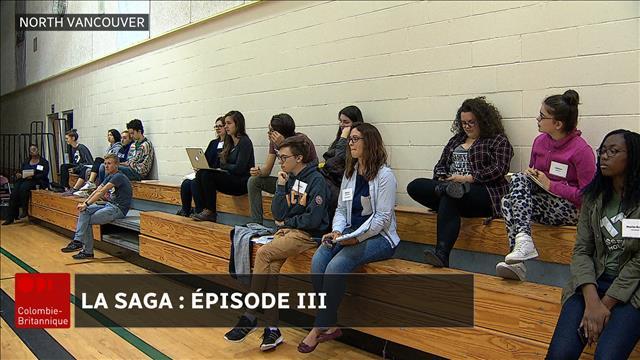 Les jeunes réfléchissent à l'engagement communautaire à la SAGA 2017