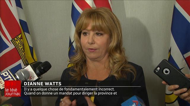 Dianne Watts se lance dans la course à la direction du Parti libéral de la C.-B.