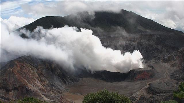 Volcan du Costa Rica