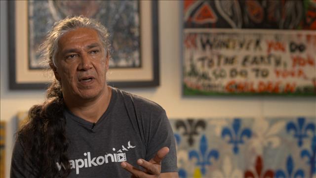 Jacques Newashish, artiste autochtone multidisciplinaire