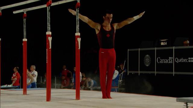 Zachary Clay aux Championnats du monde de gymnastique artistique