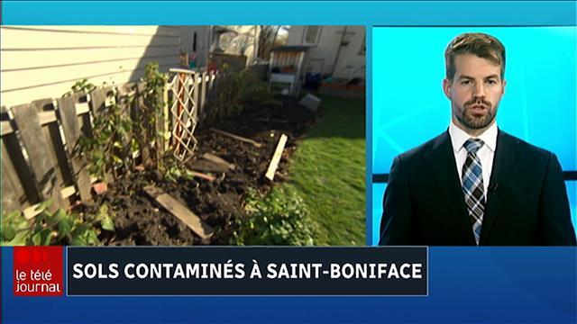Sols contaminés de Saint-Boniface