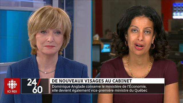 De nouveaux visages au Cabinet