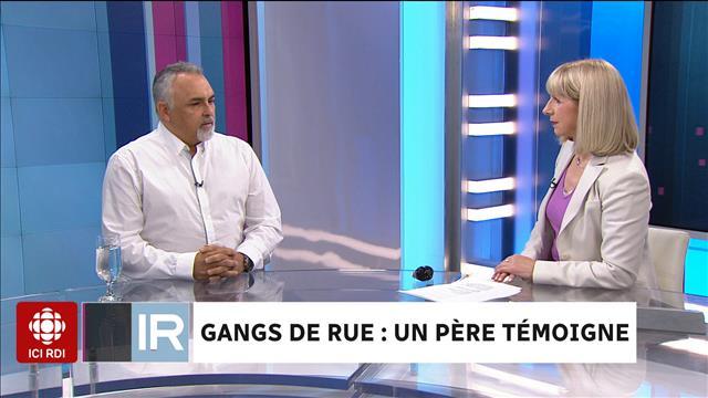Gangs de rue: un père témoigne