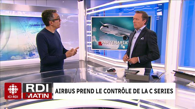 Airbus prend le contrôle