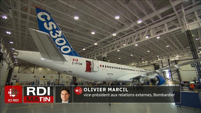 Airbus achète la C Series