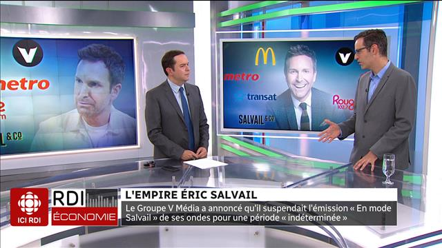 L'empire d'Éric Salvail
