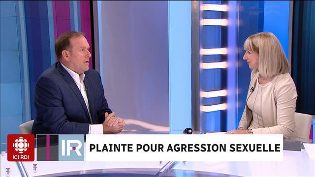 Plainte pour agression sexuelle