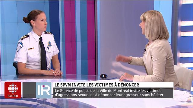 Le SPVM invite les victimes à dénoncer