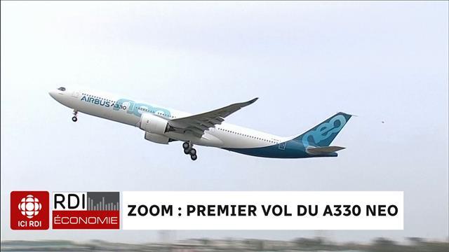 Premier vol du A330