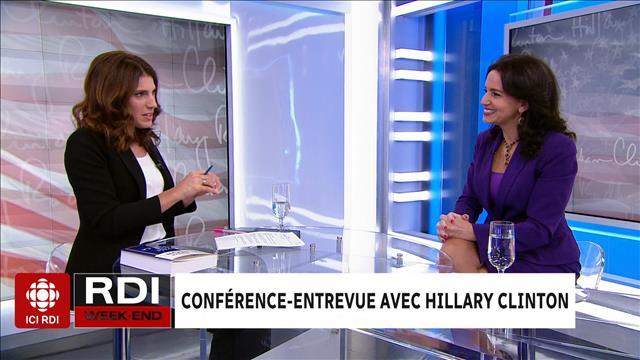 Conférence-entrevue avec Hillary Clinton