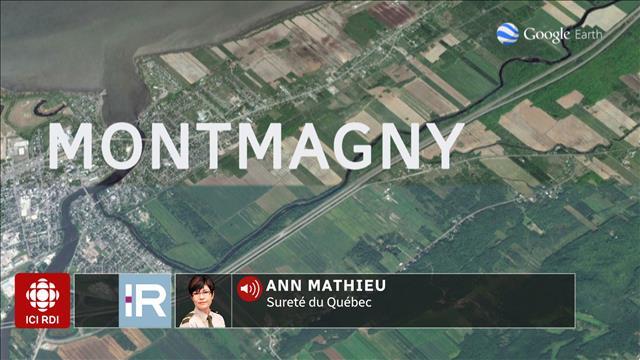 Délit de fuite à Montmagny