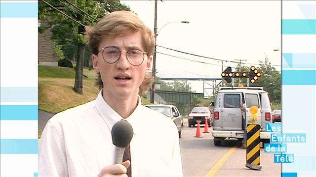 Le premier et seul reportage d'Emmanuel Bilodeau comme journaliste
