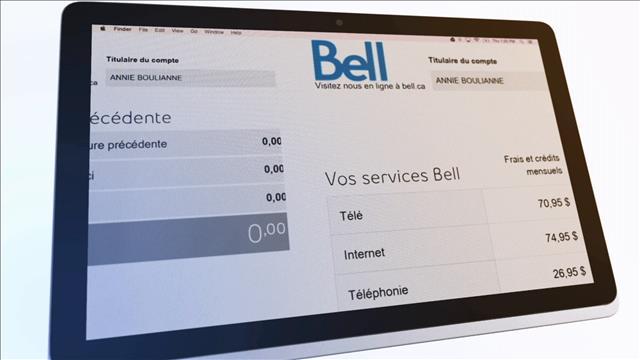 La facture de Bell qui cloche