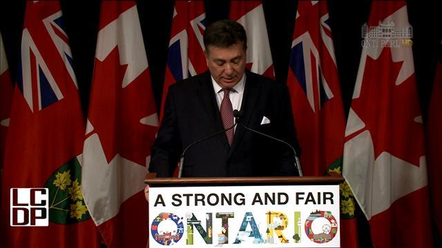 Mise à jour économique en Ontario