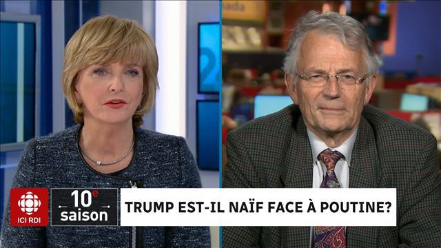 Trump est-il naïf face à Poutine?