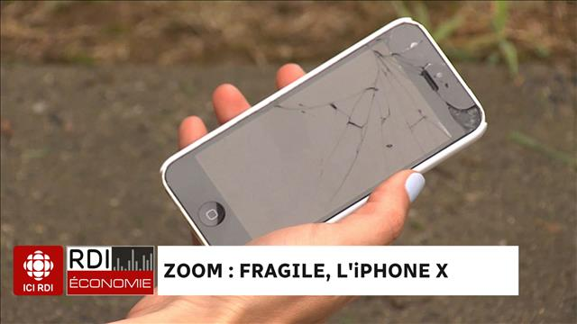 Fragile, l'iPhone X?