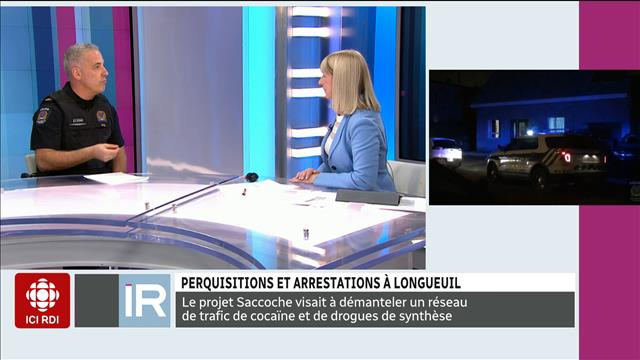 Perquisitions et arrestations à Longueuil