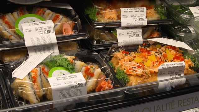 Des sushis..sur le pouce!