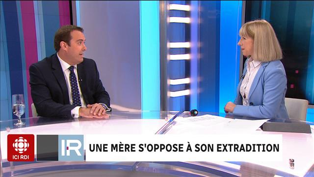 Une mère s'oppose à son extradition