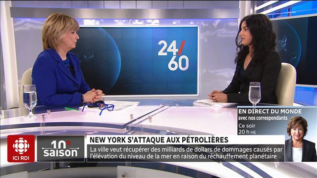 New York s'attaque aux pétrolières