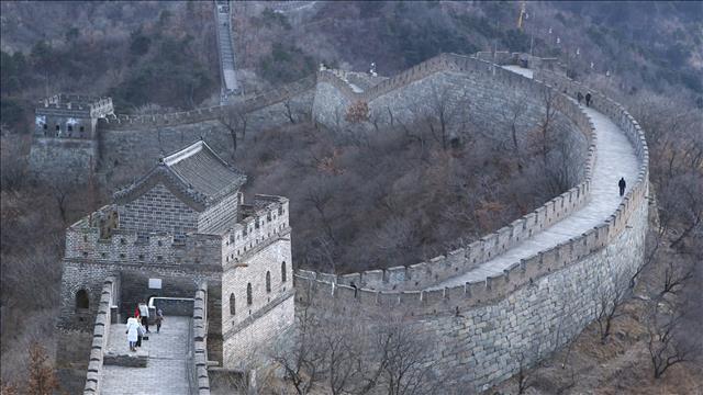 La Grande Muraille et le Temple du ciel