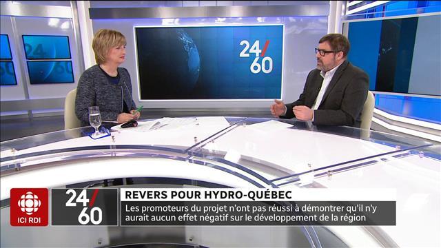 Revers pour Hydro-Québec