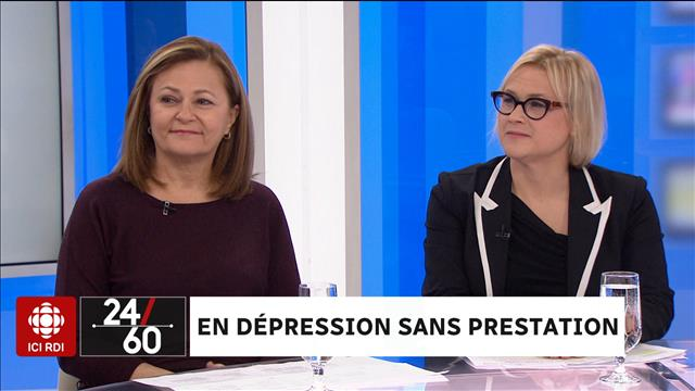 En dépression sans prestation