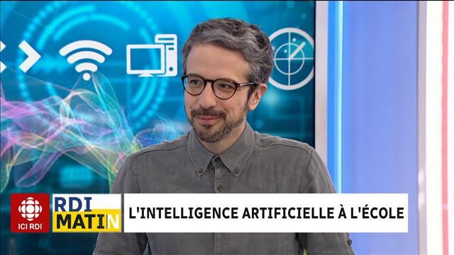 L'intelligence artificielle à l'école