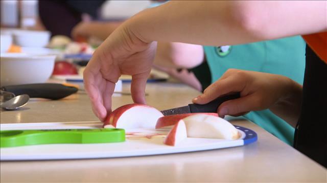 Innovations dans les cafétérias scolaires au Nouveau-Brunswick
