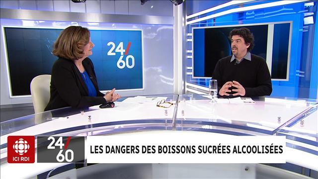 Les dangers des boissons sucrées alcoolisées
