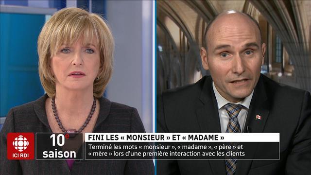 Fini les «Monsieur» et «Madame»