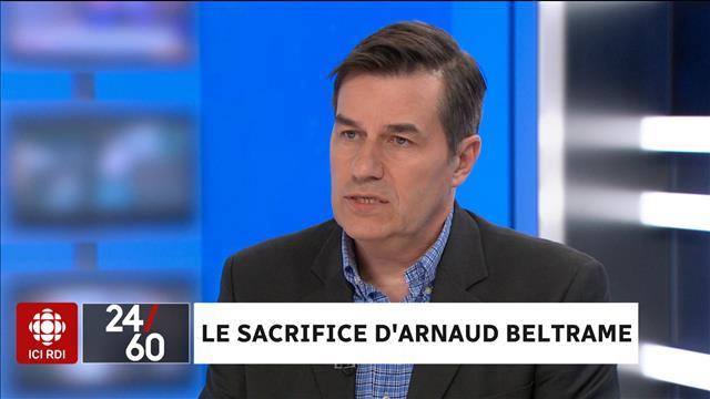 Le sacrifice d'Arnaud Beltrame