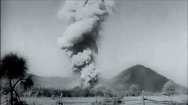 Aide-mémoire : volcan Paricutin, 75 ans