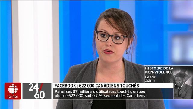 Facebook : 622 000 Canadiens touchés