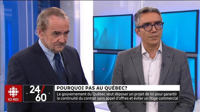 Pourquoi pas au Québec ?