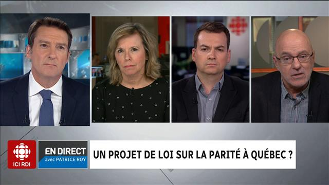 Le panel politique du 25  avril 2018