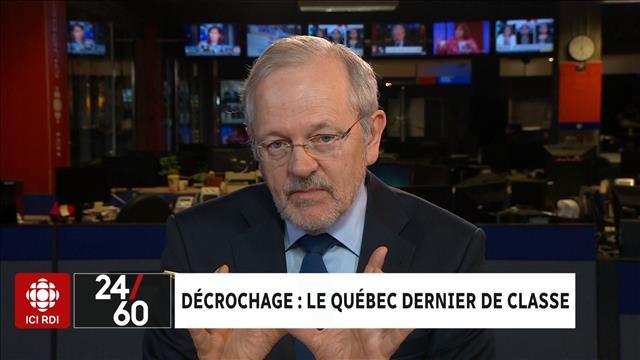 Décrochage : le Québec dernier de classe