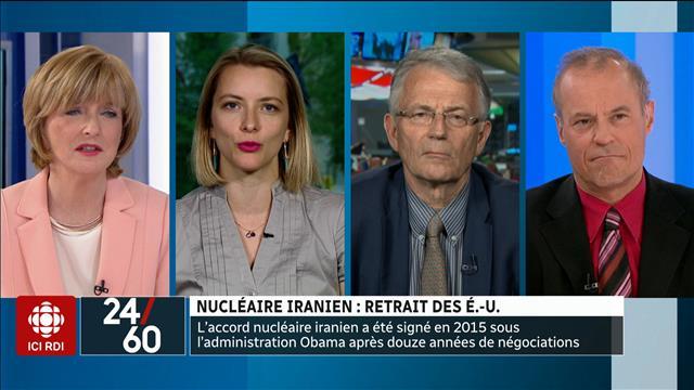 Nucléaire iranien : retrait des États-Unis