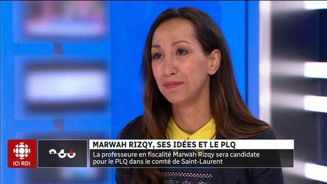 Marwah Rizqy, ses idées et le PLQ