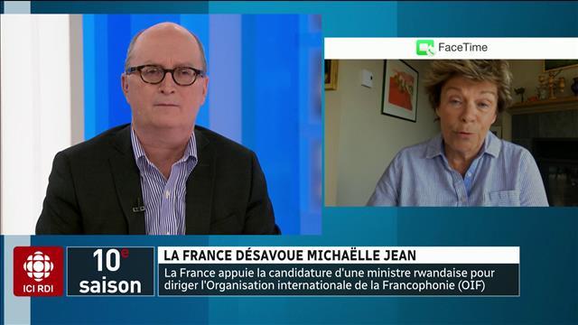 La France désavoue Michaëlle Jean