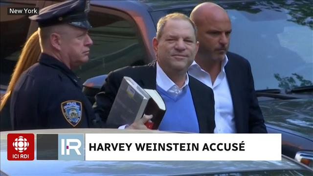 Harvey Weinstein accusé