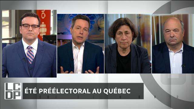 Été préélectoral au Québec