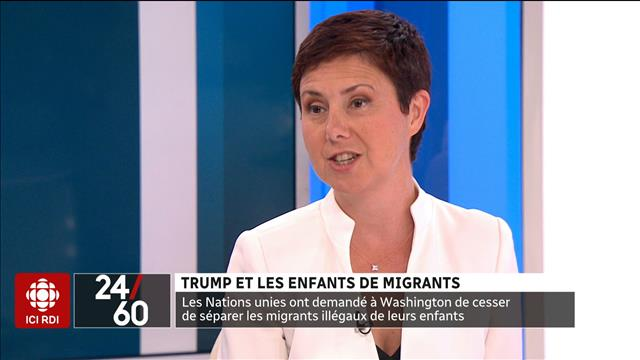 Trump et les enfants de migrants