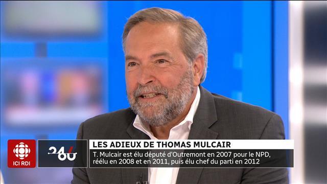 LES ADIEUX DE THOMAS MULCAIR