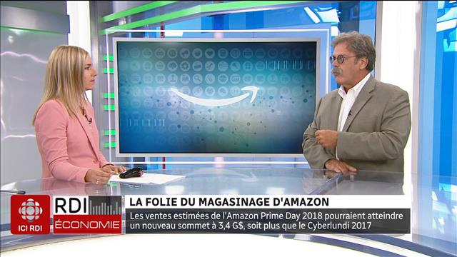 La folie du magasinage d'Amazon