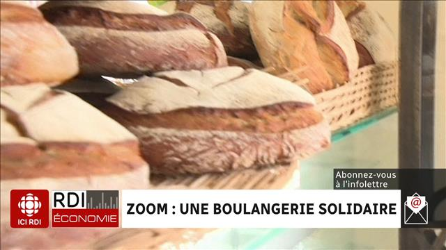 ZOOM : Une boulangerie solidaire