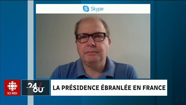 La présidence ébranlée en France